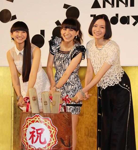 「Perfume」デビュー10周年イベント開催!「ほんまもんの初心を思い出す」