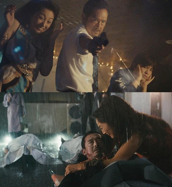 鶴見辰吾が20年ぶりに「GONIN」に帰還! 雨中のメイキング映像公開