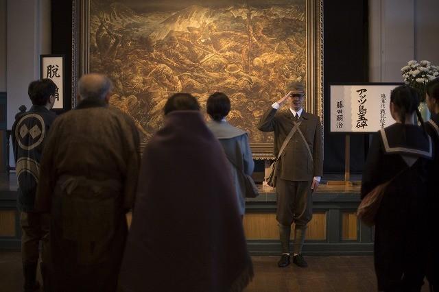 藤田嗣治展が開催 映画「FOUJITA」藤田の絵画が登場する場面写真を入手
