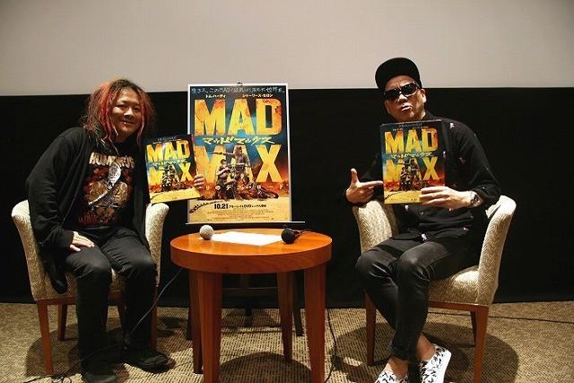 ライムスター宇多丸&高橋ヨシキが興奮した「マッドマックス」特典映像の中身とは!?