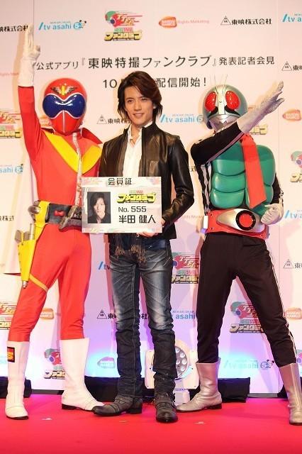 「仮面ライダー555」半田健人、東映特撮作品配信に大興奮「昭和好きにはたまらない」 - 画像1