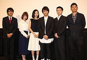 撮影を振り返った佐野和真、中村ゆり、遠藤雄弥ら「全開の唄」