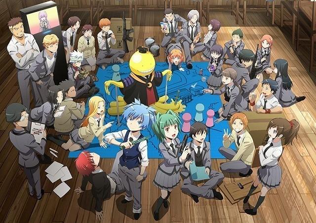 アニメ「暗殺教室」第2シリーズ、16年1月に放送!主要キャラ描いた最新ビジュアル公開