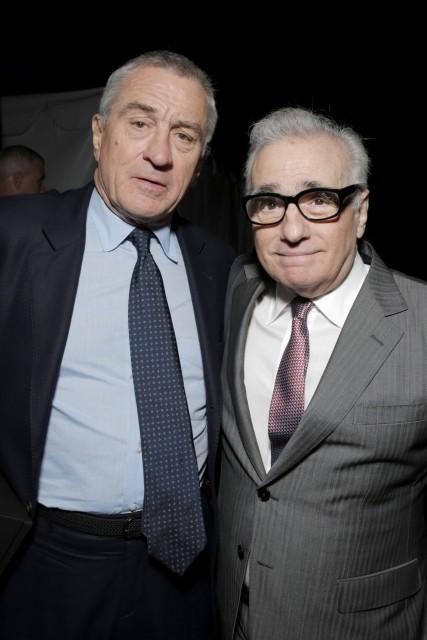 マーティン・スコセッシ監督とロバート・デ・ニーロ