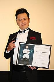 「007」アンバサダー就任にした 「くりぃむしちゅー」の有田哲平「007 スペクター」