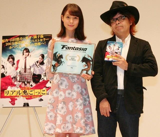園子温監督、トリンドル玲奈のハリウッド進出に太鼓判「めったにいない女優!」