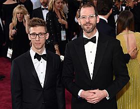 ジョン・マルーフ(左)とチャーリー・シスケル「ヴィヴィアン・マイヤーを探して」