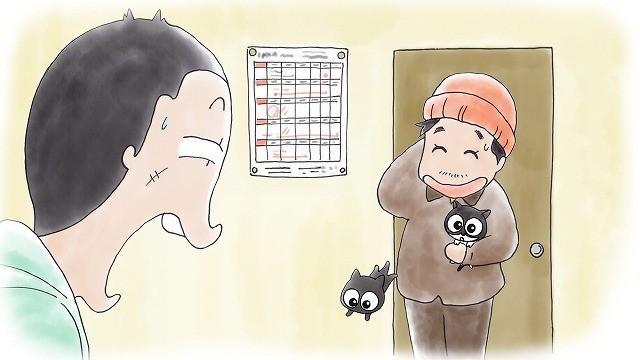 「猫なんかよんでもこない。」実写映画公開に先駆けてテレビアニメ版が放送開始