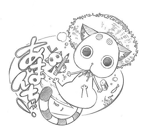 キャラクターデザイン・伊東葉子による アニメ化決定に寄せられたイラスト