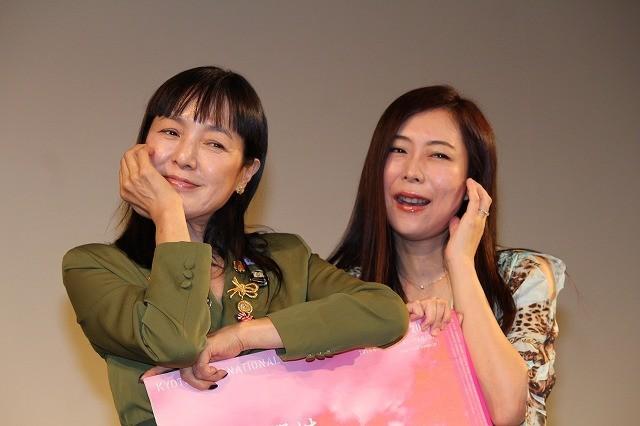 桃井かおり&椿鬼奴、舞台上で初共演!京都国際映画祭で初監督作が上映