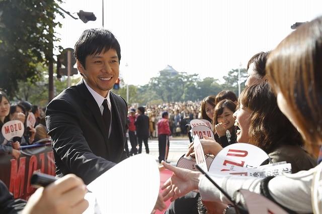 """「MOZU」西島秀俊、""""聖地""""北九州に凱旋!観客1500人に20分間のファンサービスも"""