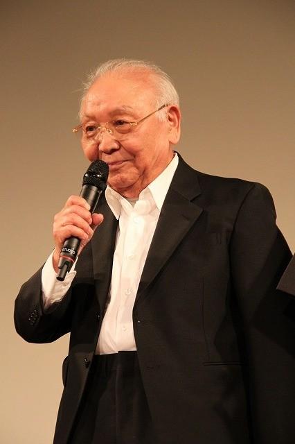 中島貞夫、17年ぶり監督作お披露目で力説「ちゃんばらは日本の文化なんだ!」