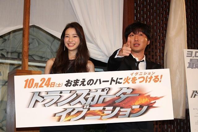 「スピードワゴン」小沢一敬、足立梨花に公開プロポーズ!?