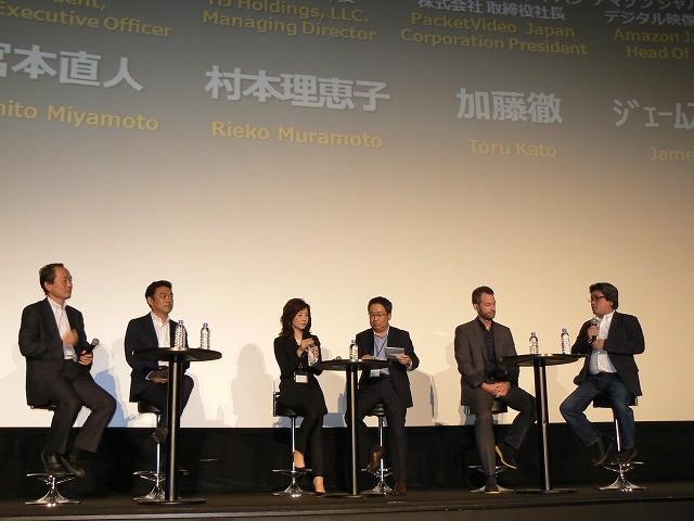 VODサービスの未来を語り合うイベントに、日米の主要プレイヤーが集結