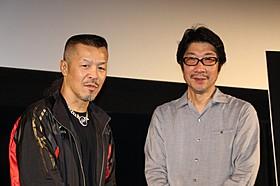 舞台挨拶に立った辰吉丈一郎と阪本順治監督「ジョーのあした 辰吉丈一郎との20年」