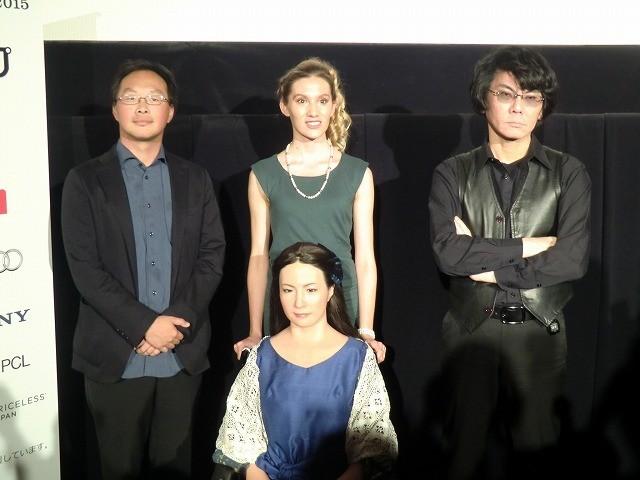 人間とアンドロイドの共演作「さようなら」 深田晃司監督「人間より人間らしく見える瞬間がある」
