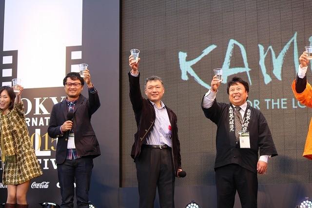 「KAMPAI!」日本酒試飲イベントがTIFFで開催! 200人の観客が乾杯