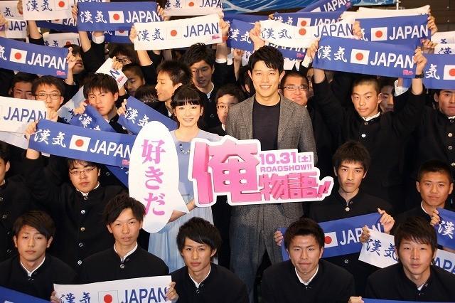 """鈴木亮平、男子校の""""リアル猛男""""に大興奮「続編はお願いします」"""