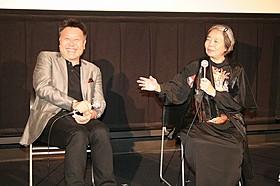 ティーチインに臨んだ原田眞人監督と樹木希林「駆込み女と駆出し男」