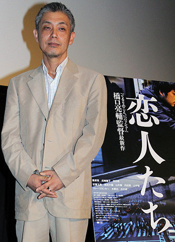 橋口亮輔監督、「あんたならやれる」淀川長治さんの言葉胸に7年ぶり新作「恋人たち」お披露目 - 画像1