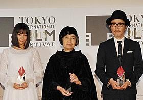 日本映画界を支える3人が受賞「ありがとう」