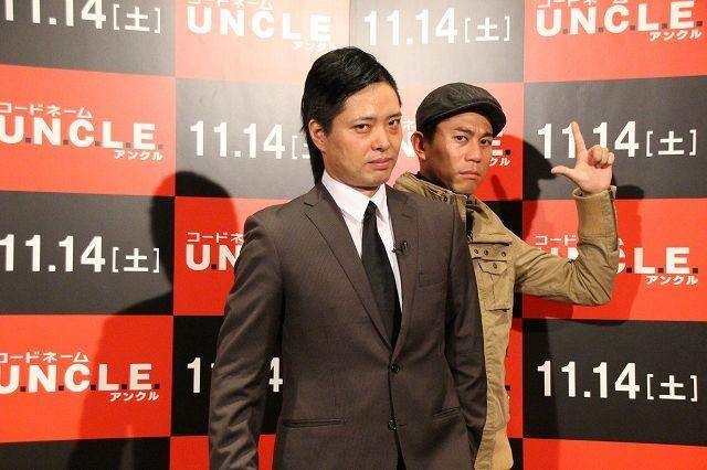 キャベツ確認中「コードネーム U.N.C.L.E.」完コピ姿で「北斗の拳」ネタ披露! - 画像1