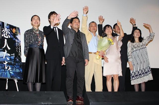 橋口亮輔監督、7年ぶり長編公開に笑顔満開「映画を作る喜び」語る