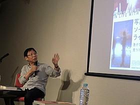 イベントに出席した柴田元幸氏「写真家ソール・ライター 急がない人生で見つけた13のこと」