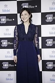広末涼子、英語で喜びのスピーチ!「はなちゃんのみそ汁」