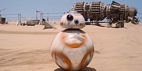 コロコロと走るキュートな姿が人気を集めるBB-8「スター・ウォーズ フォースの覚醒」