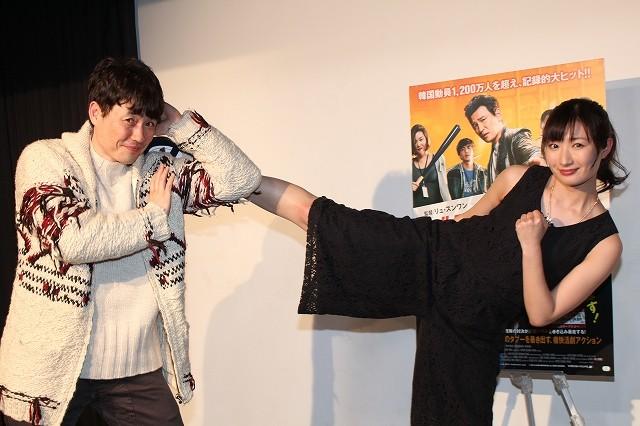 「ベテラン」リュ・スンワン監督、武田梨奈の前蹴りにメロメロ「僕が蹴られたい」
