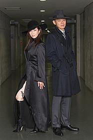 スペシャルドラマ「黒蜥蜴」に 主演する真矢ミキ&渡部篤郎