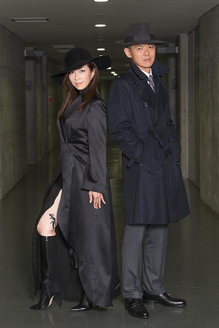 江戸川乱歩の名作「黒蜥蜴」 真矢ミキと渡部篤郎の共演でドラマ化