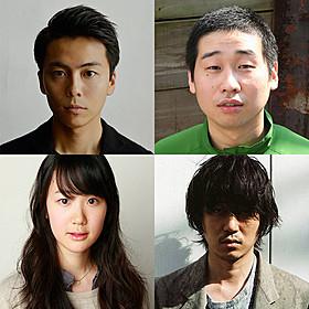 「エミアビのはじまりとはじまり」に出演する (上段左から)森岡龍、前野朋哉、新井浩文、黒木華「舟を編む」