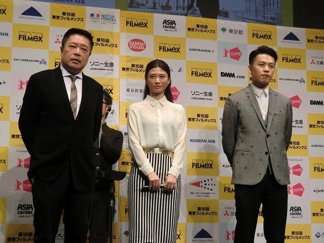 チャン・ツォーチ監督「酔生夢死」金馬奨新人賞受賞のリー・ホンチーらが来日