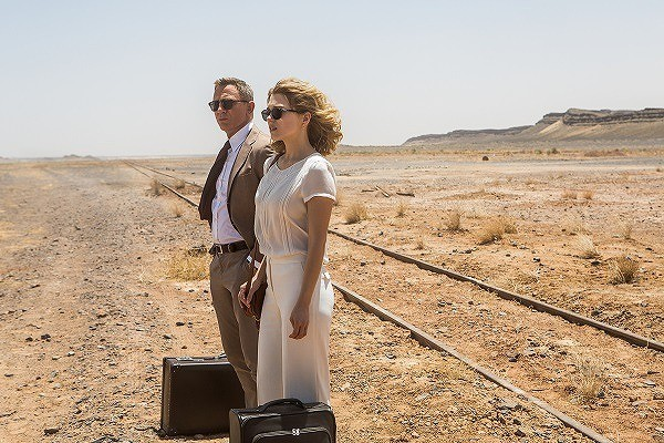 「007 スペクター」本編映像独占入手!ボンドガールだけに打ち明けた弱音とは?