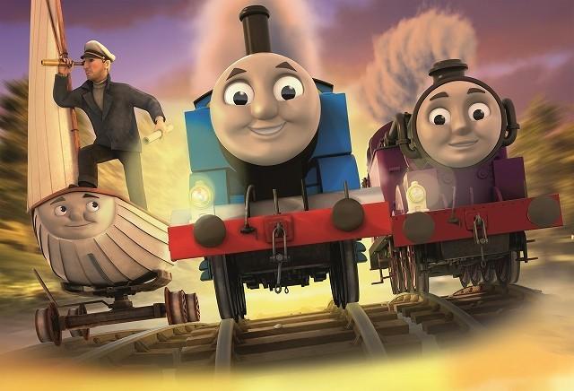 映画「きかんしゃトーマス」、16年4月公開決定!トーマスが宝探しの冒険に出発
