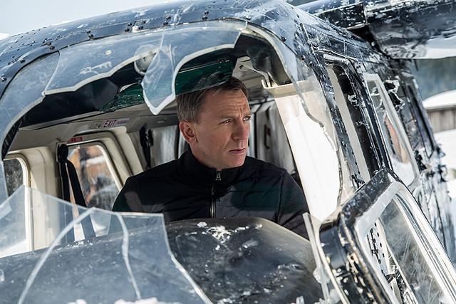 「007 スペクター」の一場面