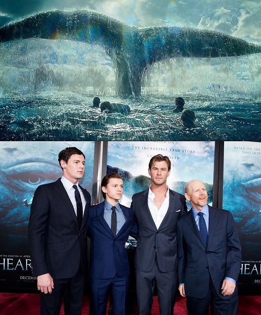 「白鯨との闘い」クリス・ヘムズワースがNYプレミアで明かす、最大の敵は減量!