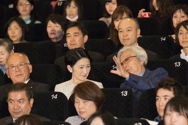 秋篠宮妃紀子さま「母と暮せば」ご高覧 山田洋次監督&吉永小百合が喜び語る