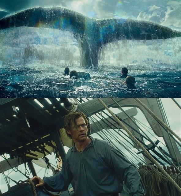 そのデカさ&迫力、まさに怪物級!「白鯨との闘い」巨大鯨出現シーン公開