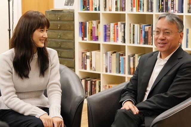 綾瀬はるか、主演ドラマ「わたしを離さないで」原作者と4時間対談!