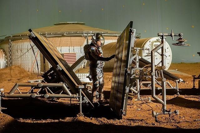 M・デイモン×R・スコット監督作「オデッセイ」、NASAの最新技術を映画史上初導入!
