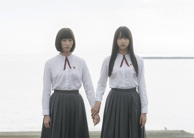 「少女」に主演する本田翼と山本美月