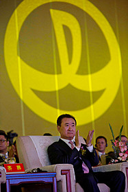 大連万達グループの王健林会長「ジュラシック・ワールド」