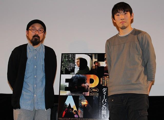 山下敦弘監督&松江哲明監督、カンヌ最高賞受賞作を語る「主人公が高倉健さんに見えた」