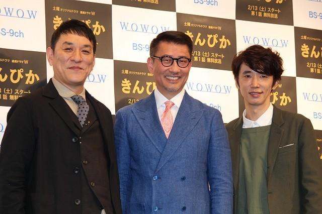 中井貴一、ユースケ&ピエール瀧との共演熱望も「失敗だった」と苦笑い