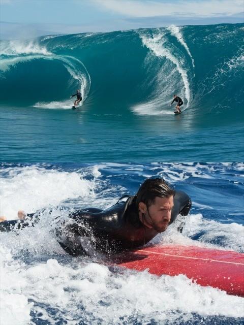 """まさに奇跡の一瞬!""""10年に1度""""の大波を攻略した「X-ミッション」サーフィン映像"""