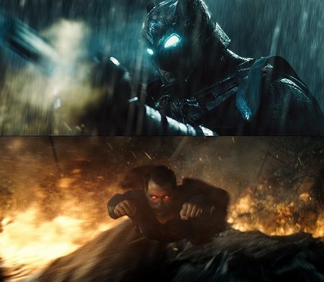 """世紀の対決はここから始まる!バットマン×スーパーマンが""""表の顔""""で対面"""