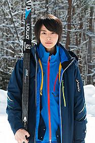 スキー選手役を演じる高杉真宙
